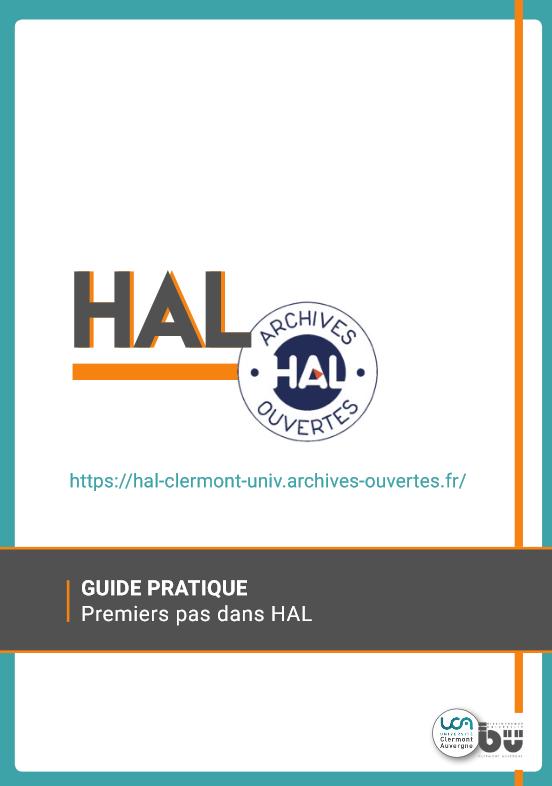 Couverture du guide pratique Premiers pas dans HAL